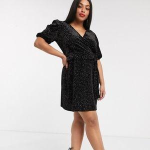 ASOS - NWT Curvey Sparkly Mini Dress